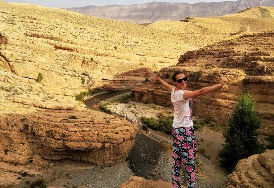 Ontdek de omgeving van de Sahara in Marokko