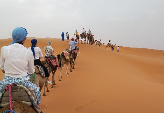 Overnachten in de Sahara, een hele mooie ervaring