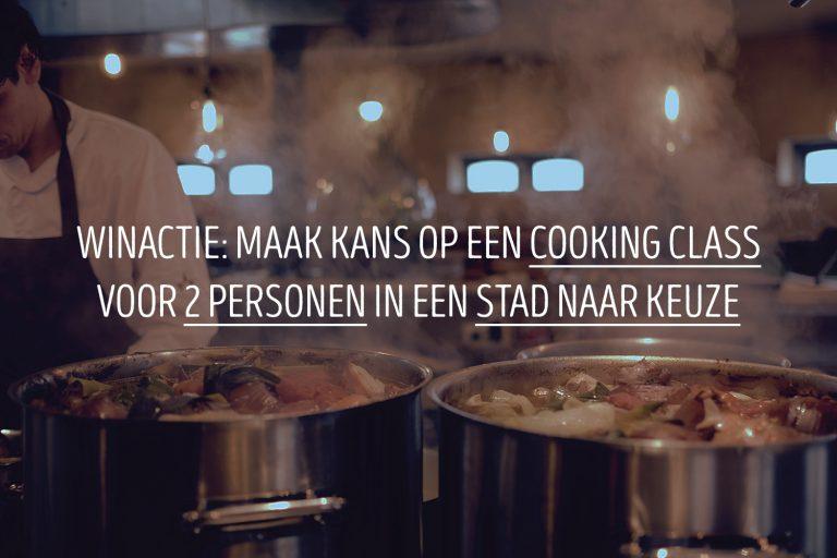 Winactie: maak kans op een cooking class voor 2 personen