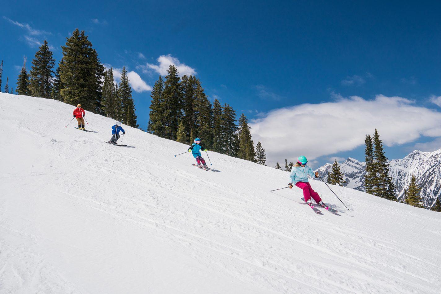 Geniet van schitterende winterlandschappen - wintersport in Snowbird
