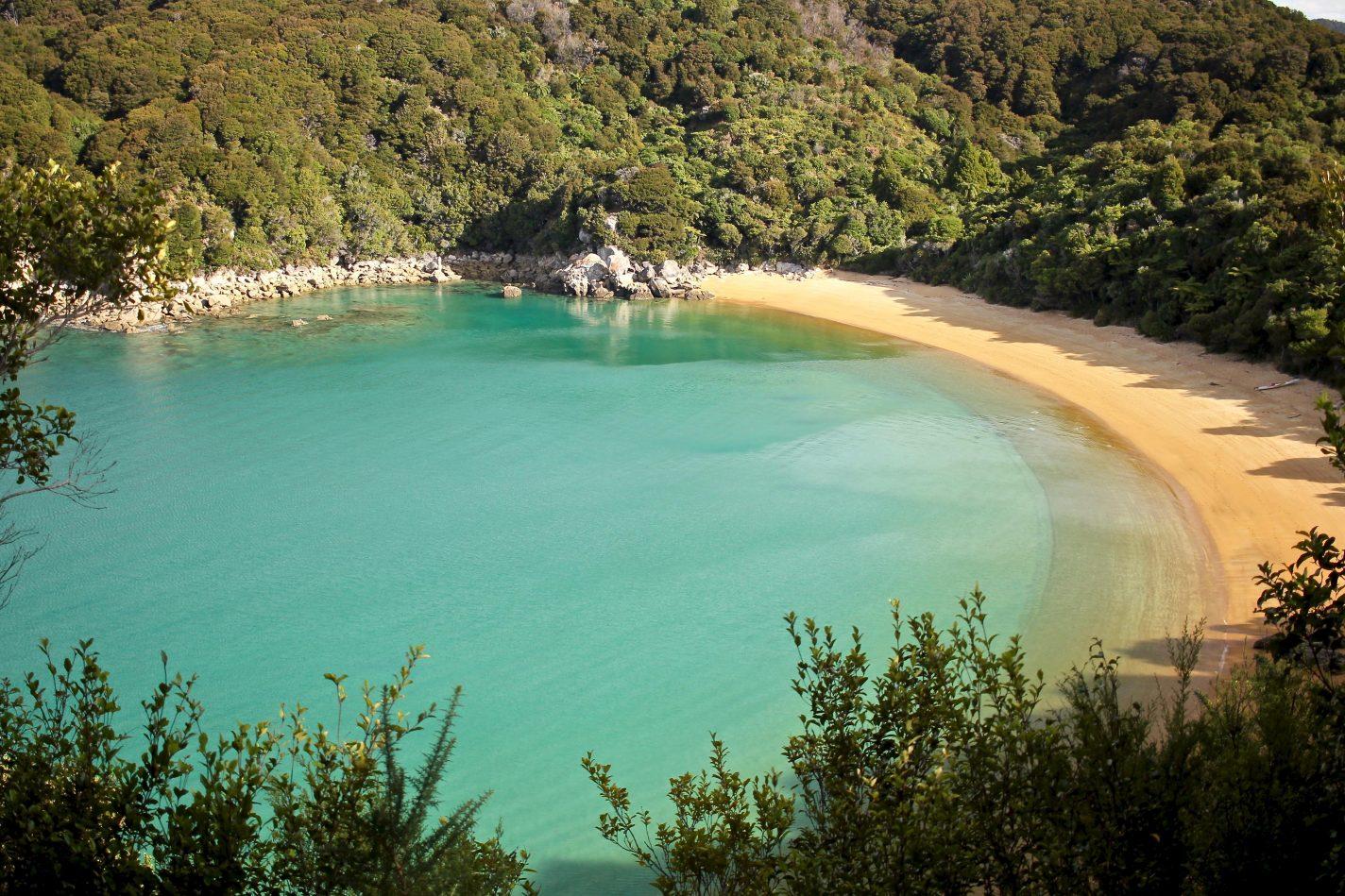 Abel Tasman - de meest indrukwekkende plekken Nieuw Zeeland