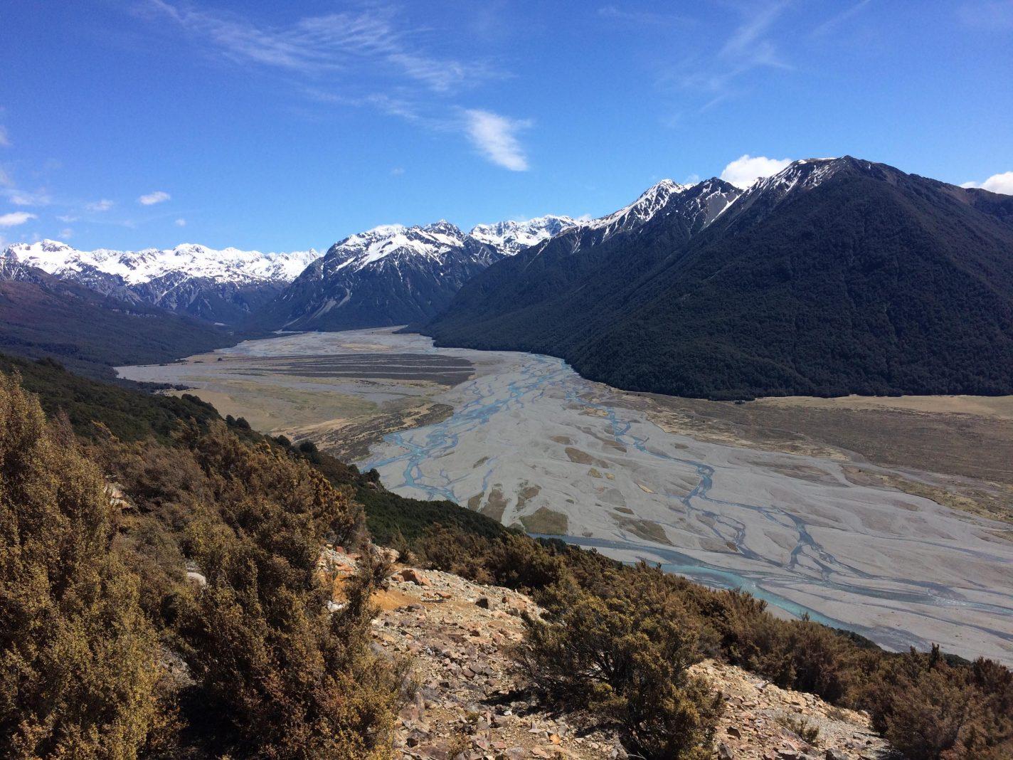 Arthur's Pass - panorama's in Nieuw Zeeland