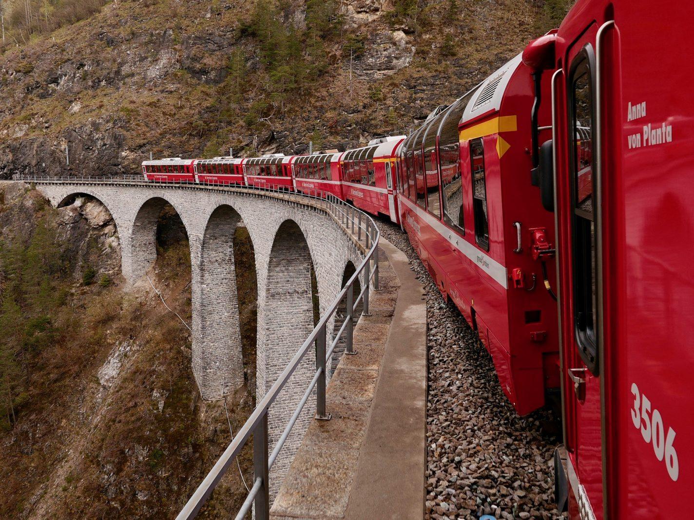 Bernina Express - van Zwitserland naar Italië