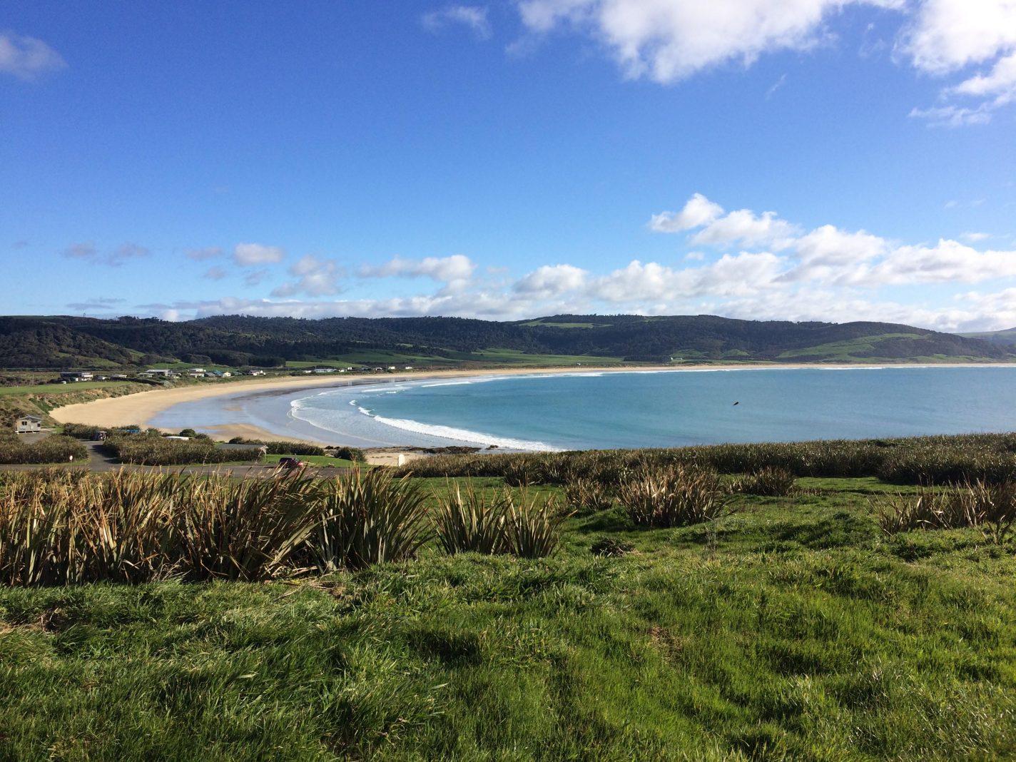 Curio Bay (Catlins) - De meest indrukwekkende plekken Nieuw Zeeland