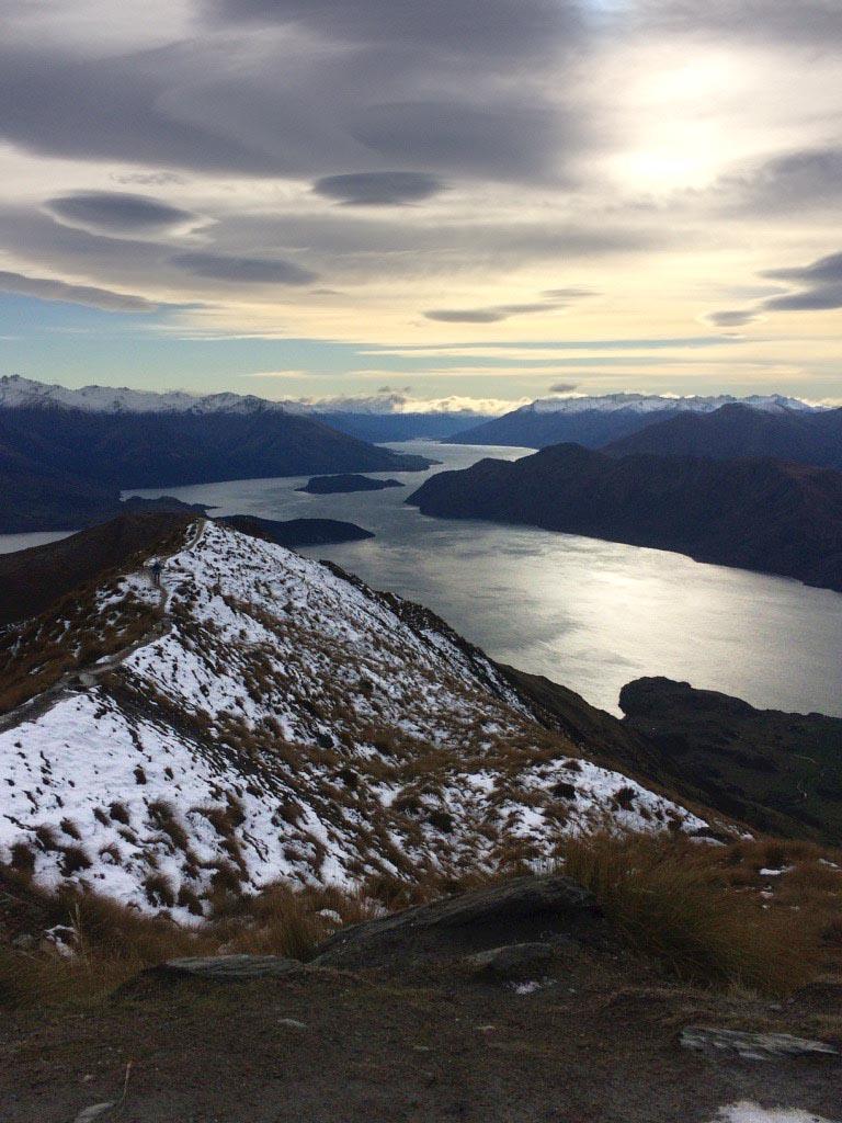 Roy's Peak - Meest indrukwekkende plekken Nieuw Zeeland