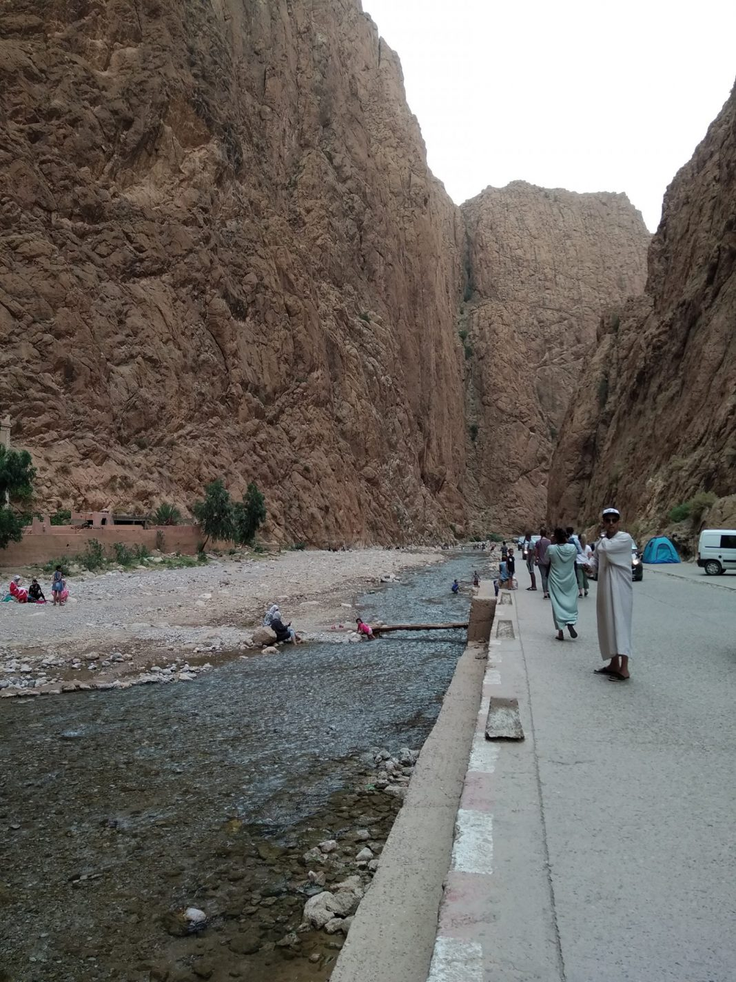 Wandelen langs de de Dadès rivier - Dadès Kloof in Marokko