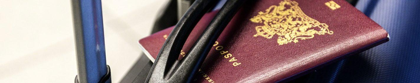 Vergeet je passoort visum en belangrijke papieren niet voordat je op reis gaat