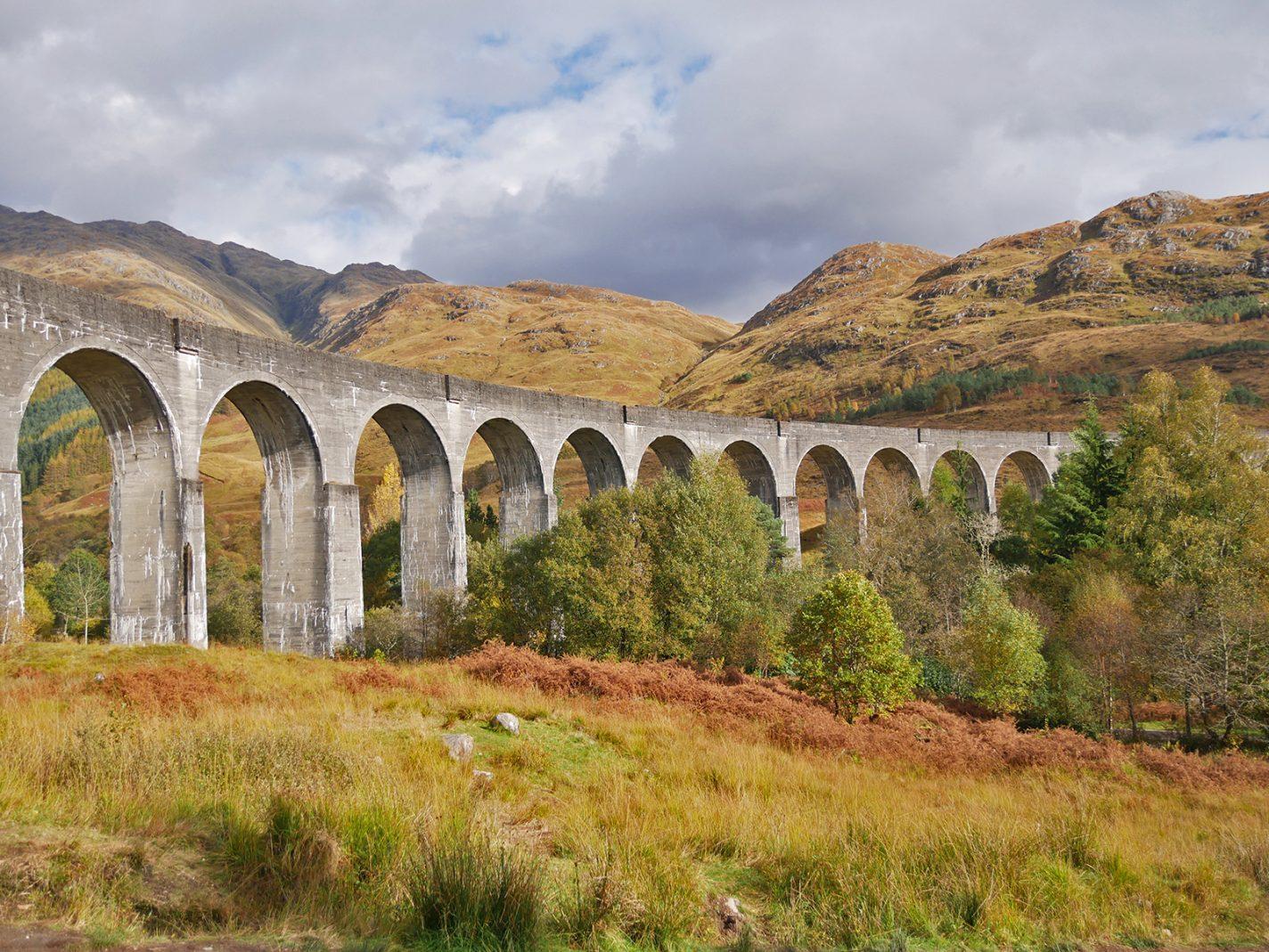 herfst in Schotland