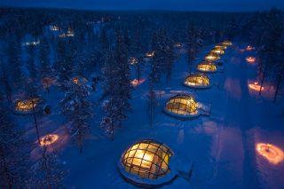 Deze iglo's in Finland bieden de beste plek om het Noorderlicht te spotten!