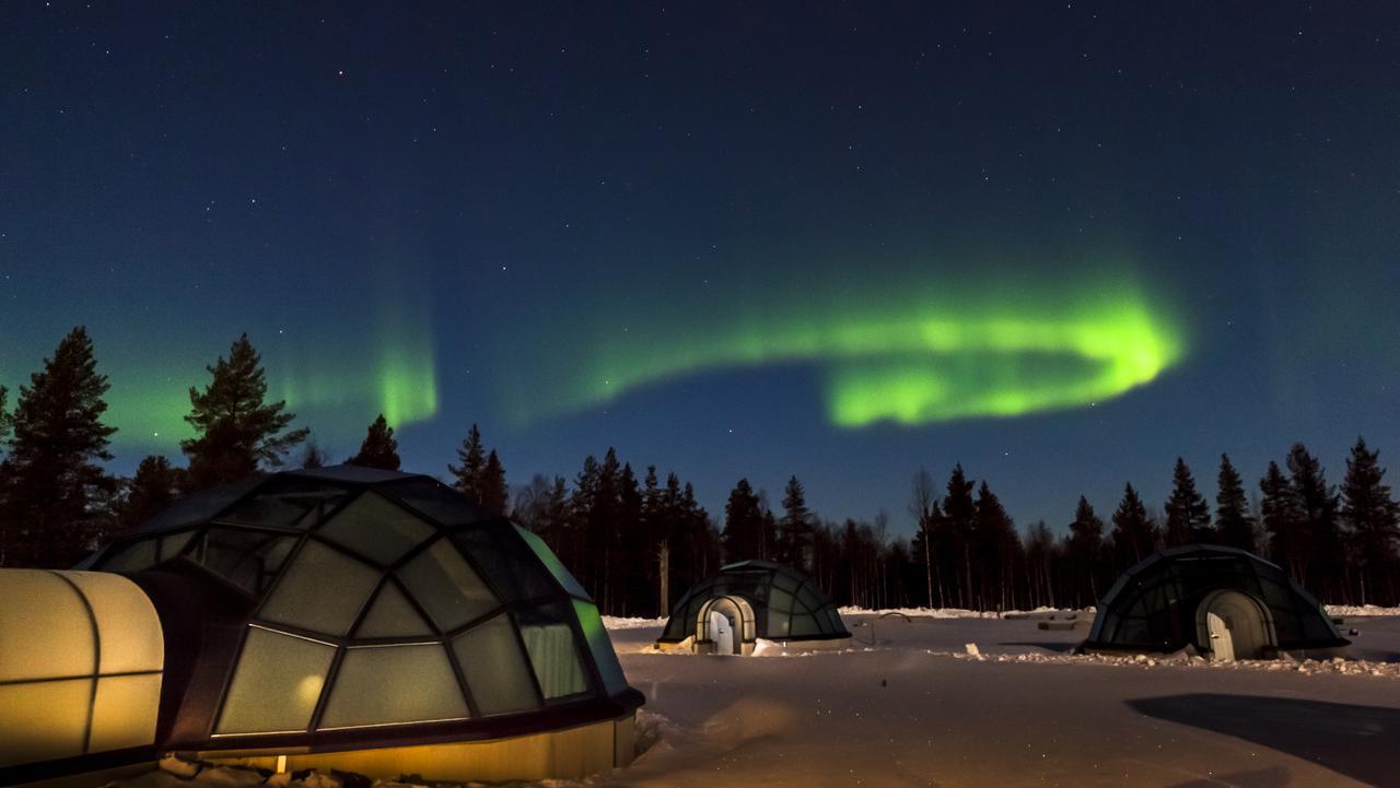 Slapen in een iglo in Finland een geweldige ervaring