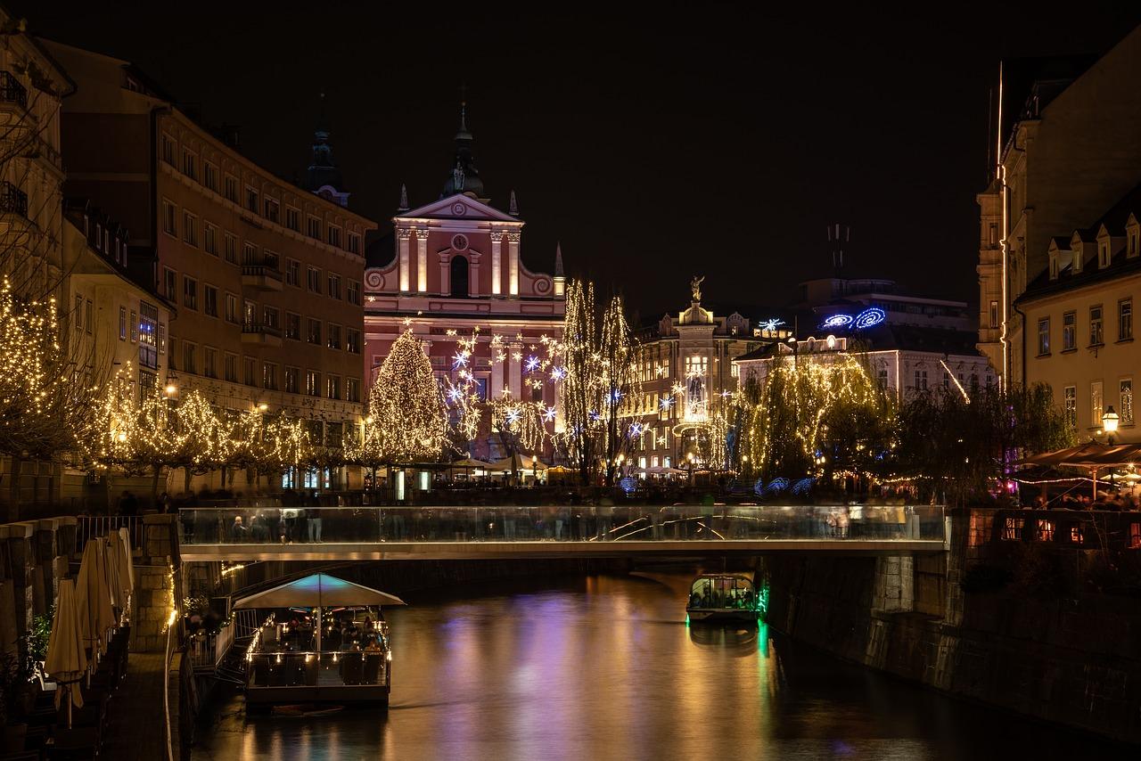 Bezoek het mooie Ljubljana in de winter