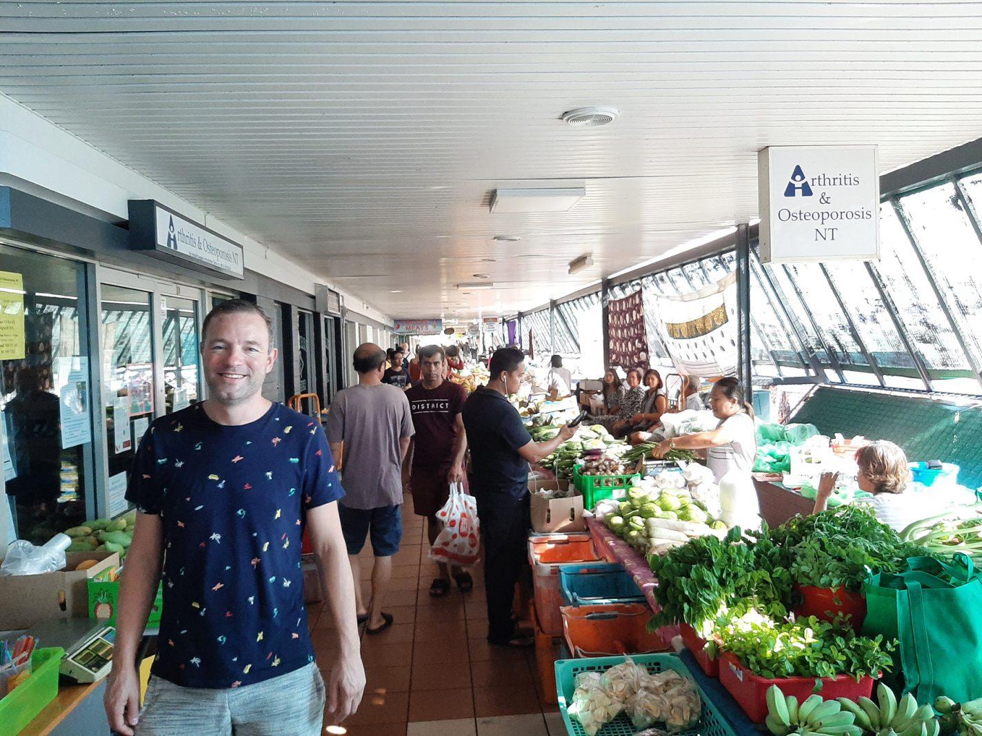 Darwin, een multiculturele stad - Rapid Creek markets
