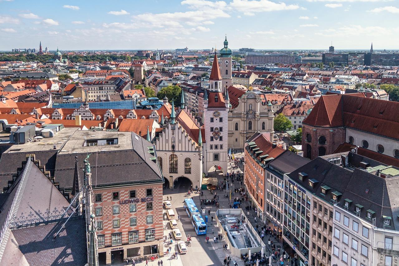Marienplatz in München - Stedentrip rond de kerst