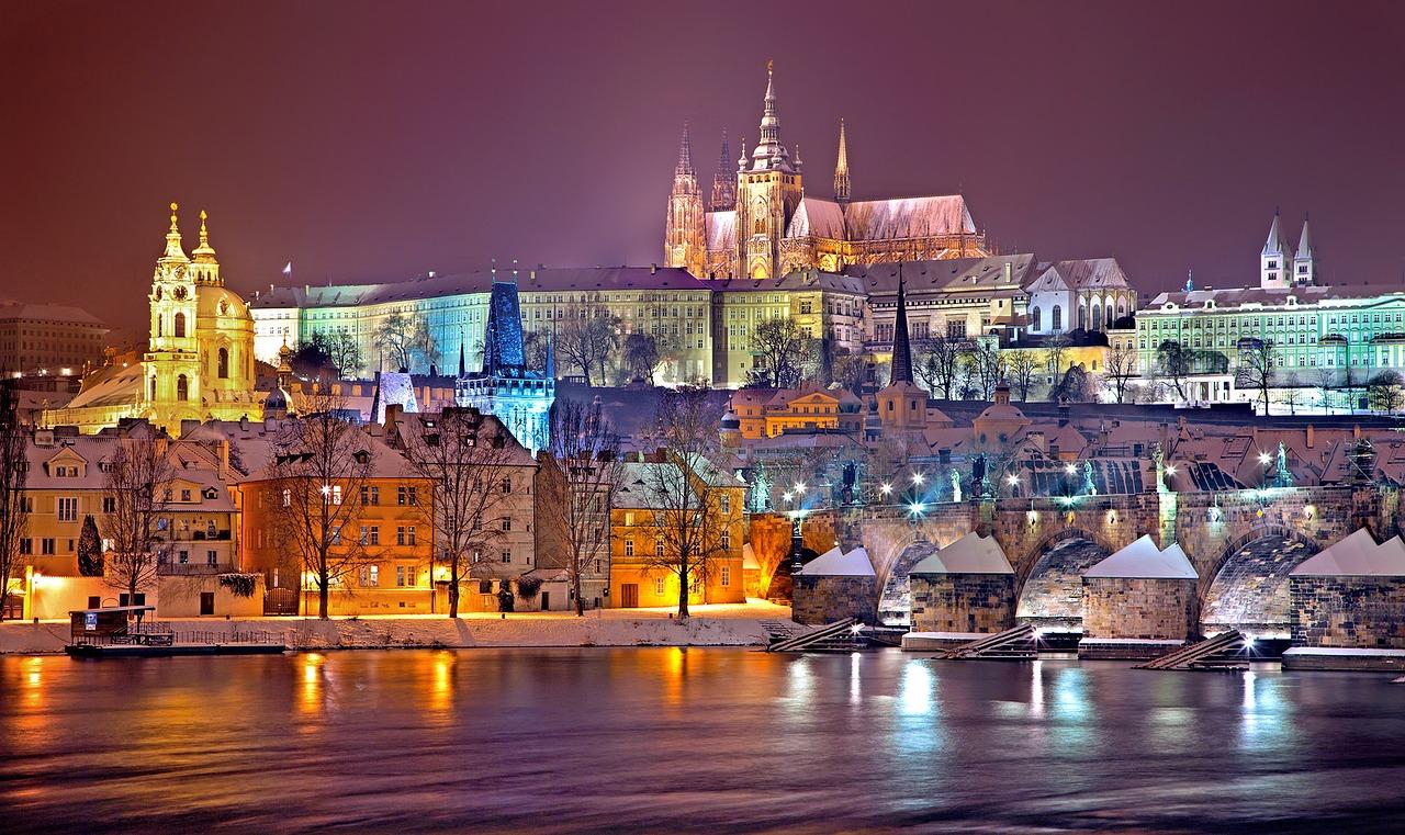 Bezoek het mooie Praag in de winter - kerst