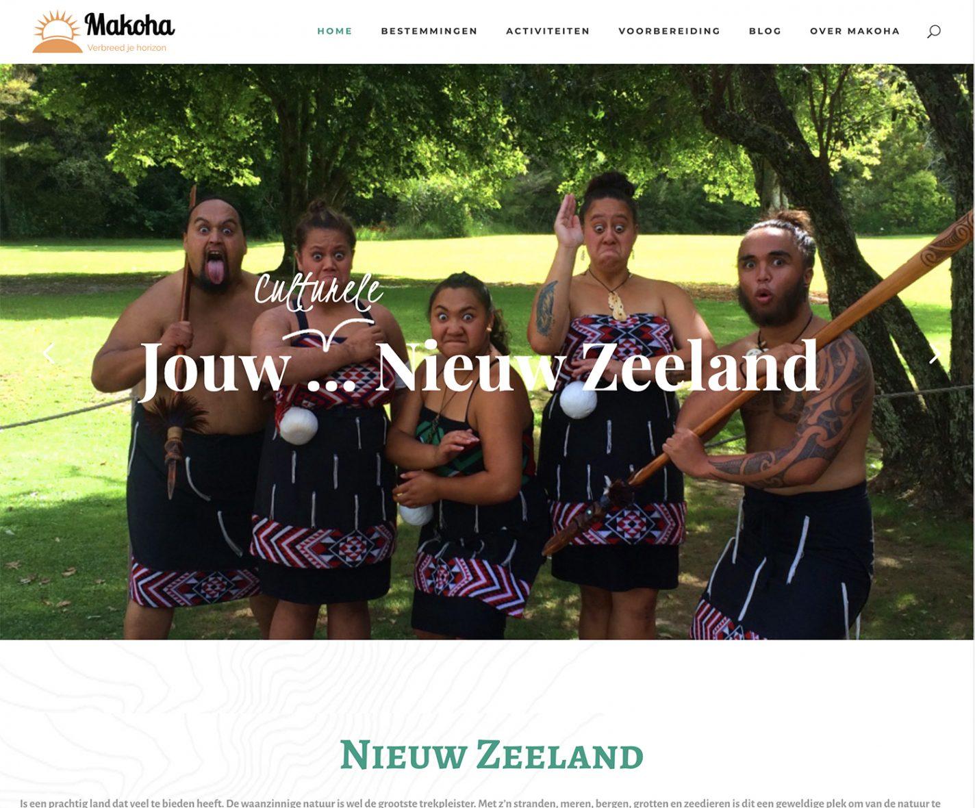 Reisblog Makoha-NZ.nl