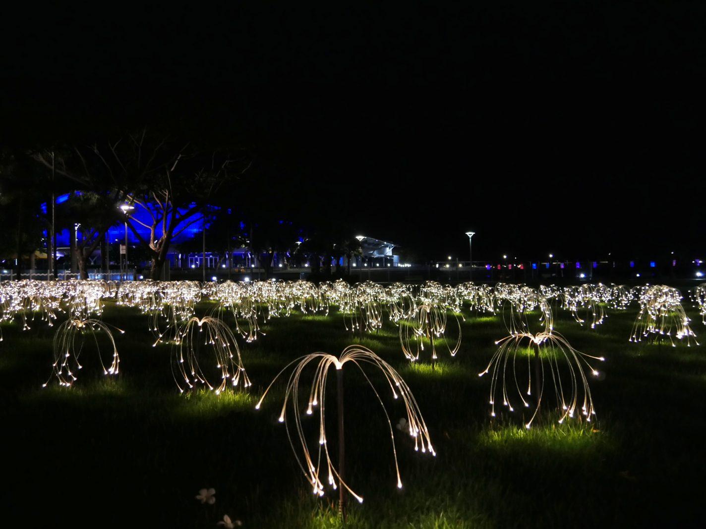 Kunstproject Tropical Light bij Waterfront