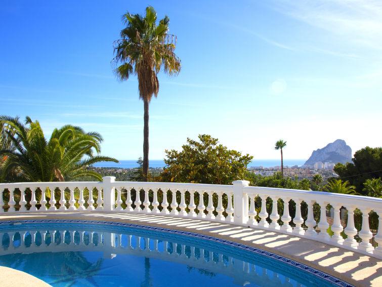 Schitterend uitzicht vanuit je vakantiehuis in Costa Blanca