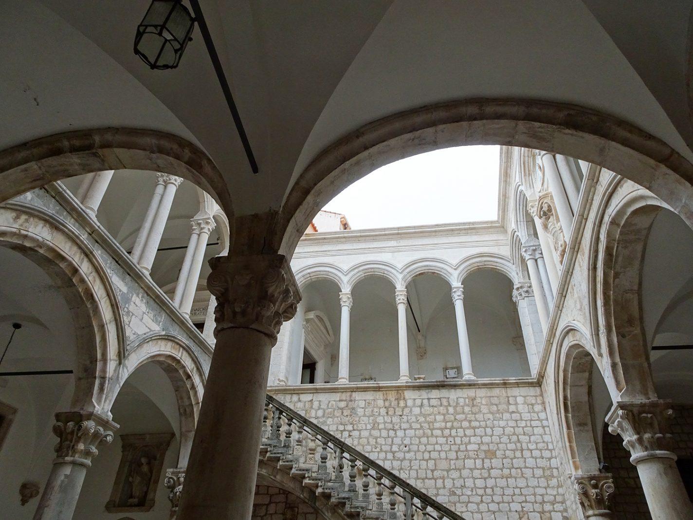 Paleis van de Rector in Dubrovnik