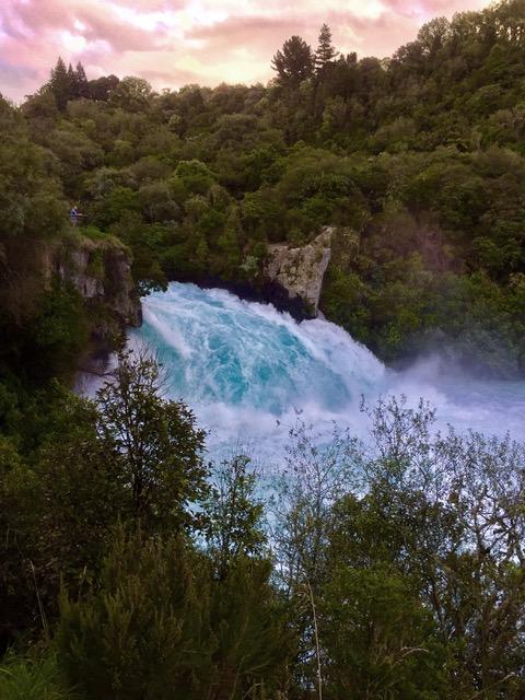 Huka Falls, Nieuw Zeeland