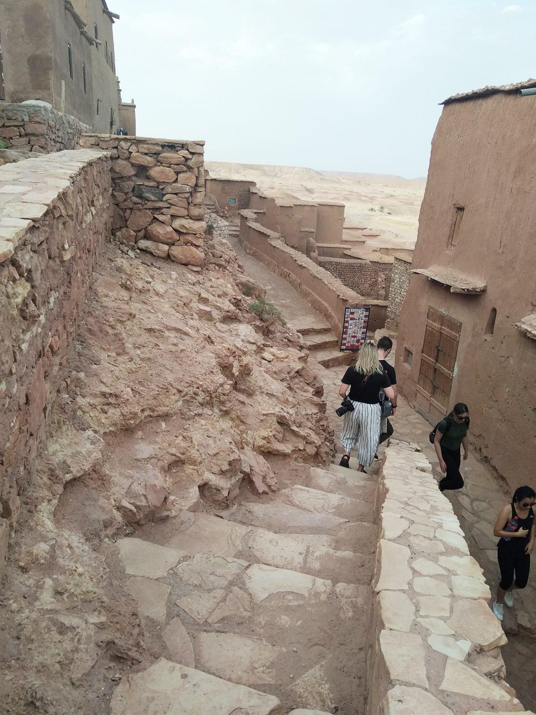 Lopen door de Kasbah - Hoge Atlas in Marokko