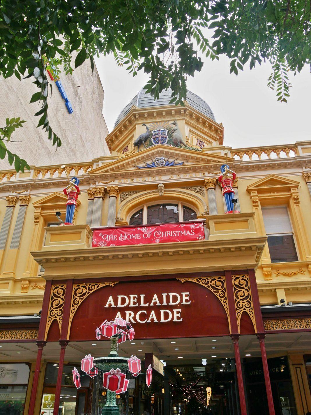 Adelaide Arcade, in kerstsfeer - Bezienswaardigheden Adelaide