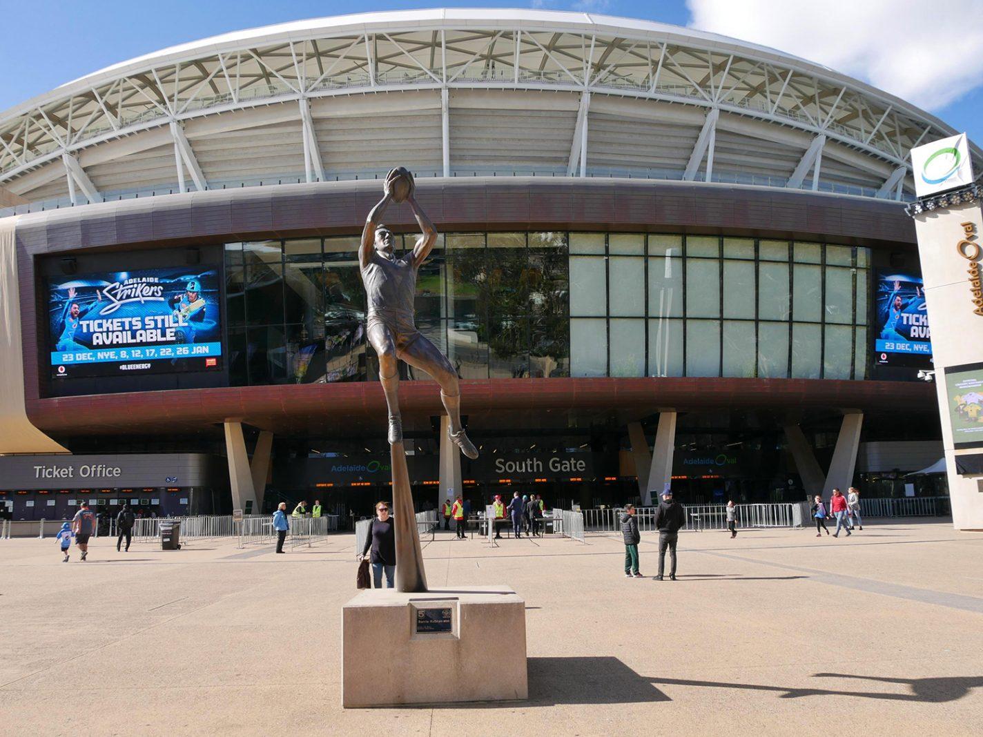 Adelaide Oval stadion - Bezienswaardigheden Adelaide