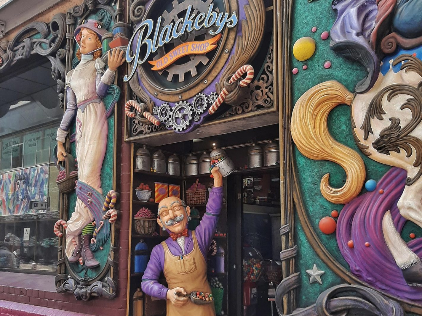 Blackebys - Old Sweet Shop - Bezienswaardigheden Adelaide