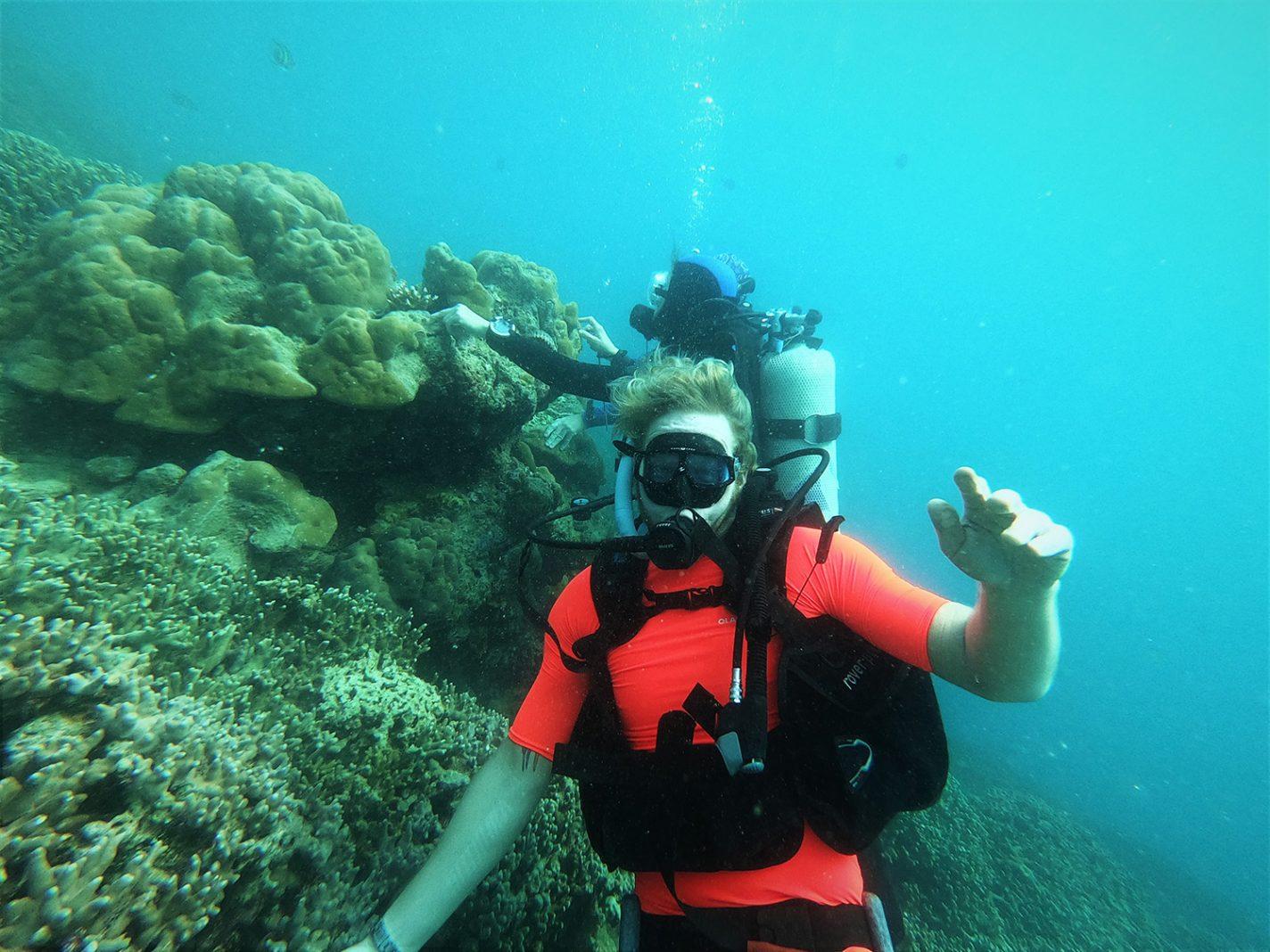 Duiken bij Yap met Yap Divers