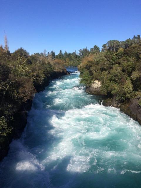 Huka Rivier Taupo Nieuw Zeeland