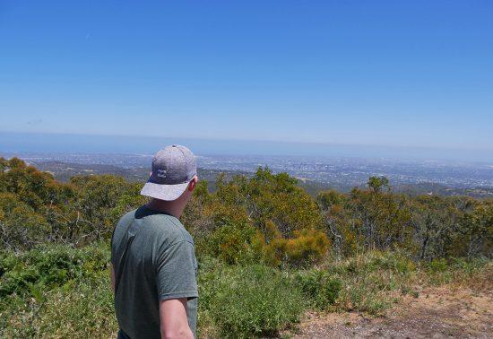 Mount Lofty Hike in de buurt van Adelaide