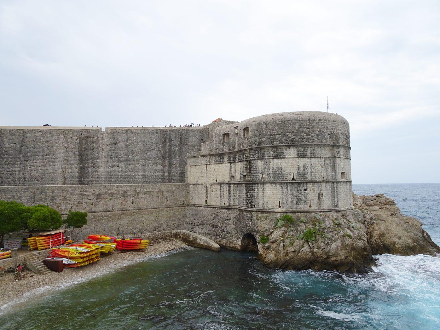 Stadsomwalling van Dubrovnik