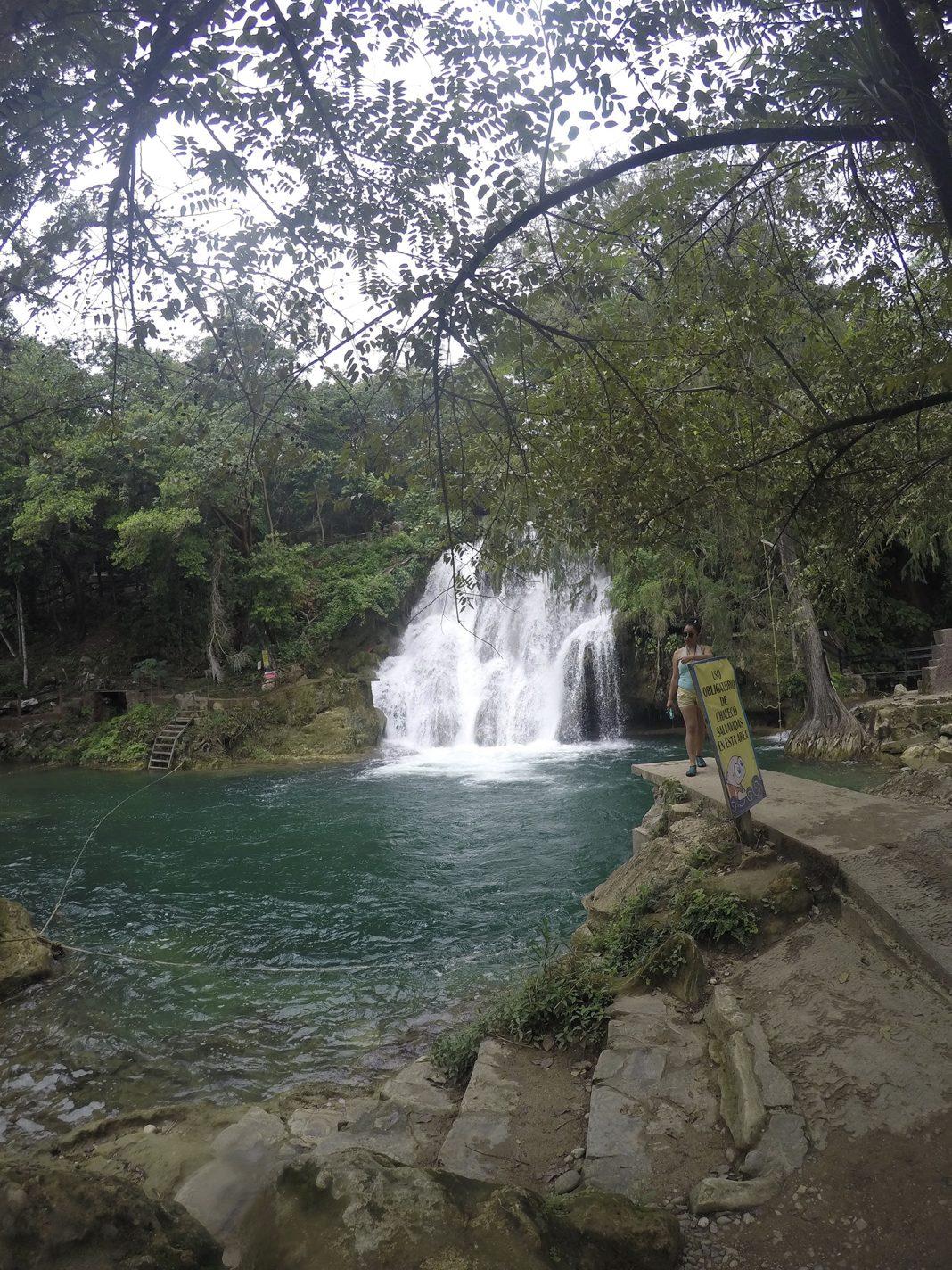 De Tamasopo waterval - Huasteca Potosina