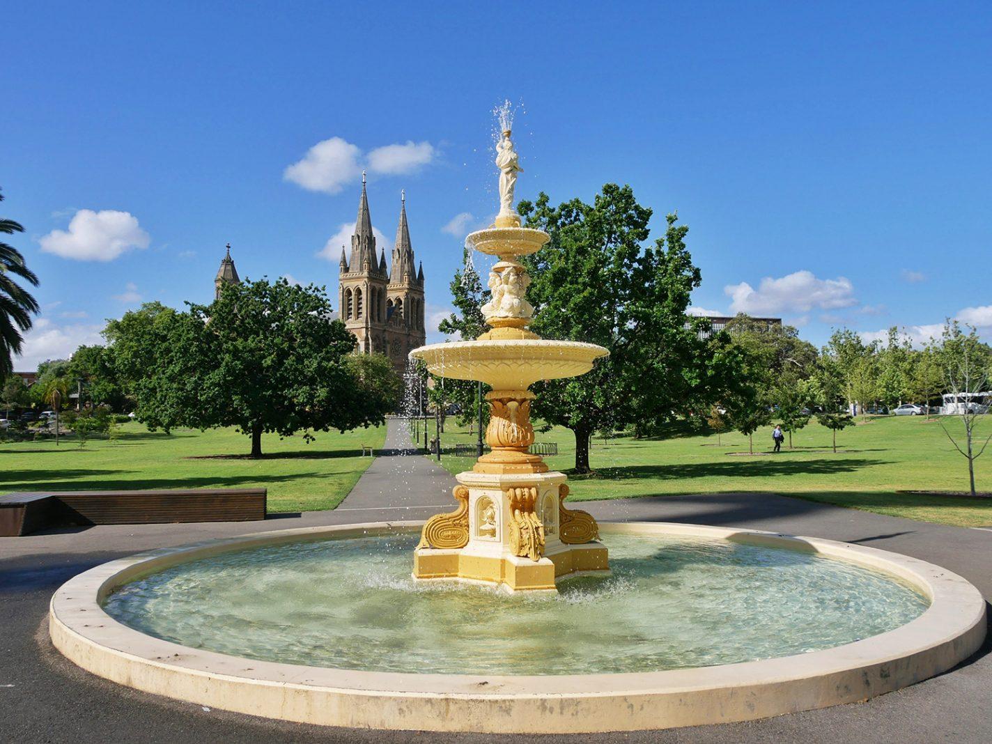 Een bezoek aan Adelaide is zeker de moeite waard