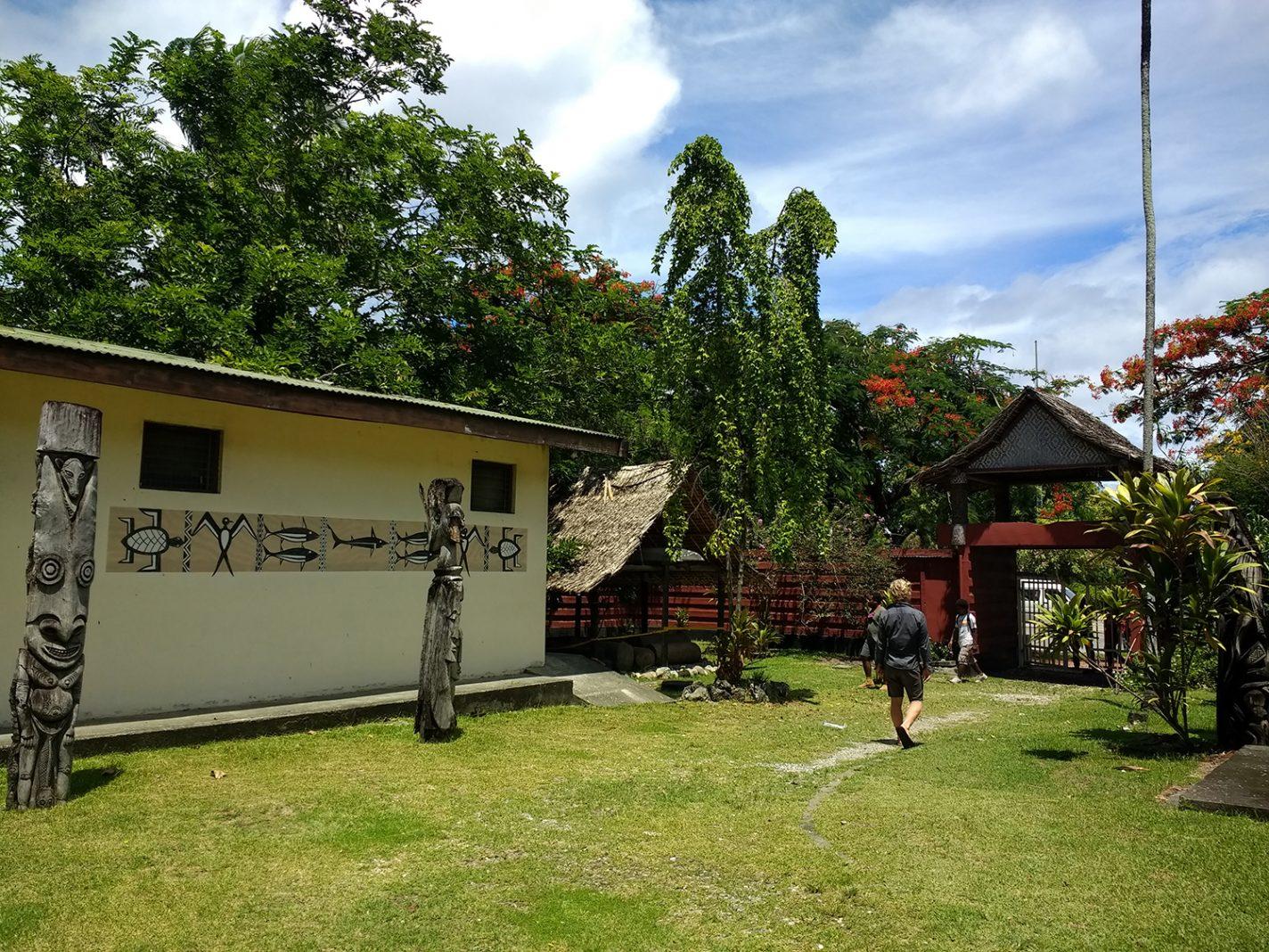 Het National museum Honiara - De Solomon Islands