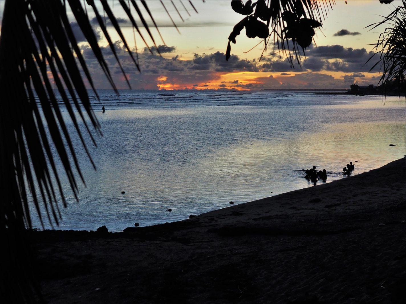 In de Pacific is de zee altijd dichtbij