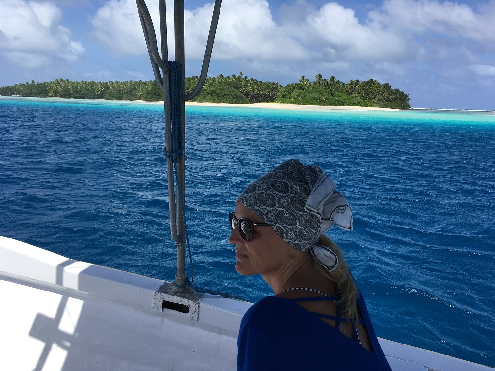 Onderweg naar Eneko island - Marshall islands