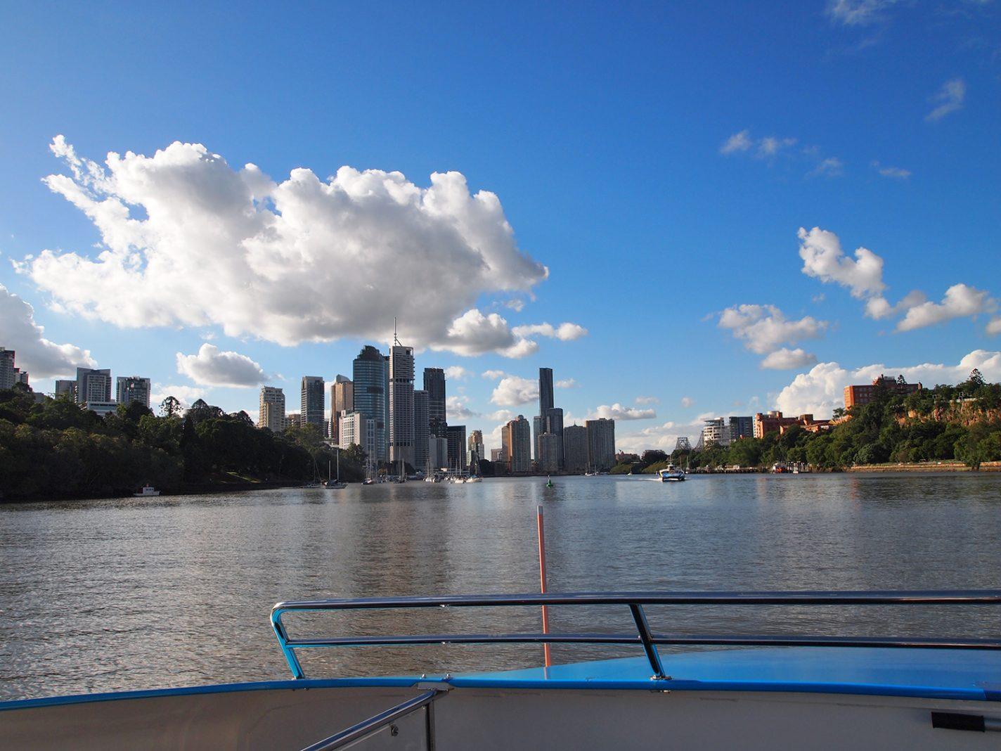 Over de rivier in Brisbane - 5 gratis activiteiten in Brisbane
