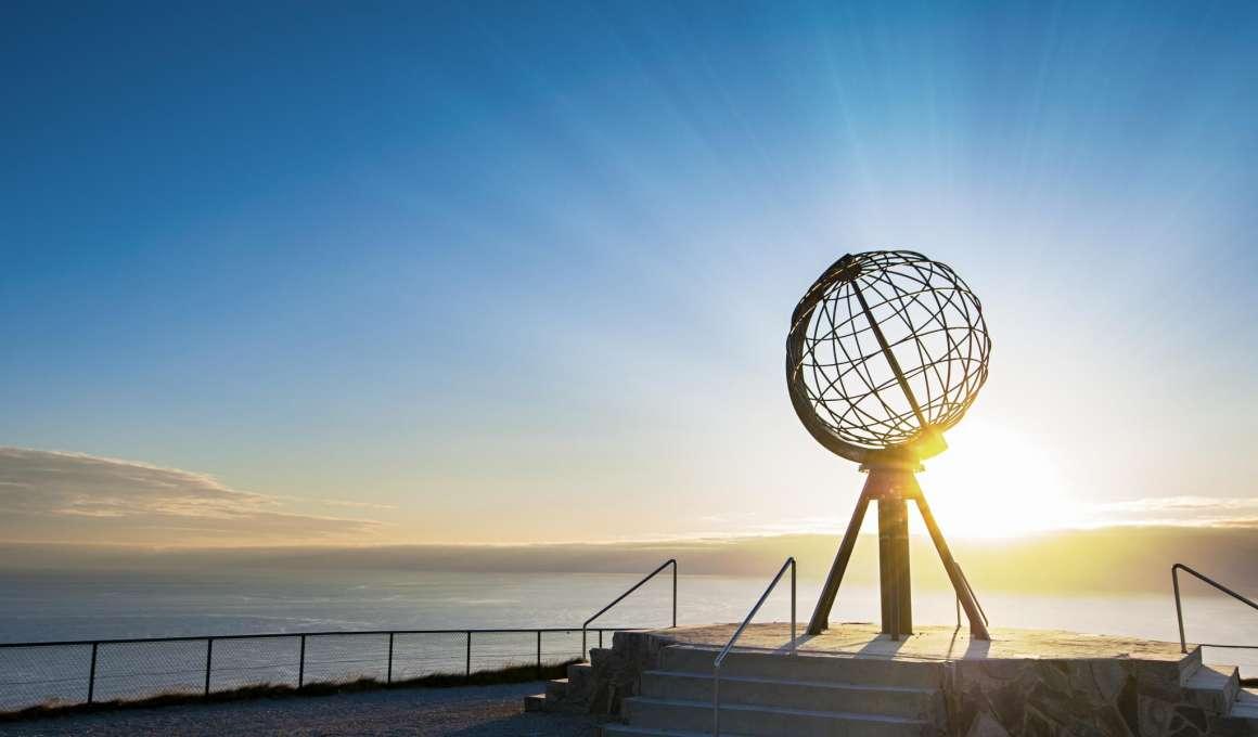 De Noordkaap, het noordelijkste puntje van Europa