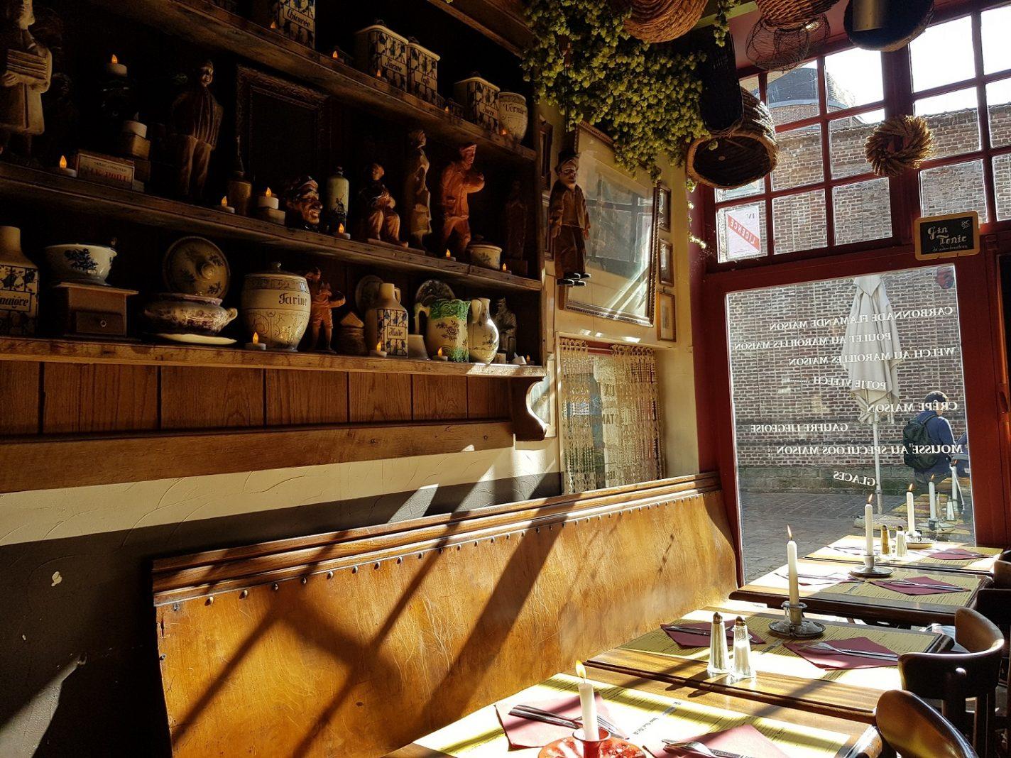 Estaminets lokale eetgelegenheid Lille Frankrijk
