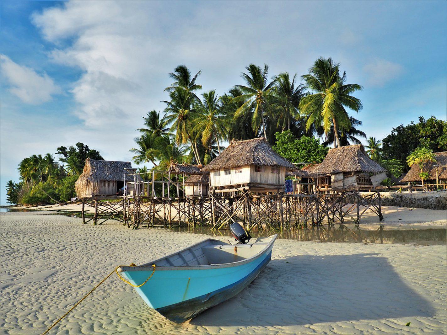 Onze hut op het water - Noord Tarawa