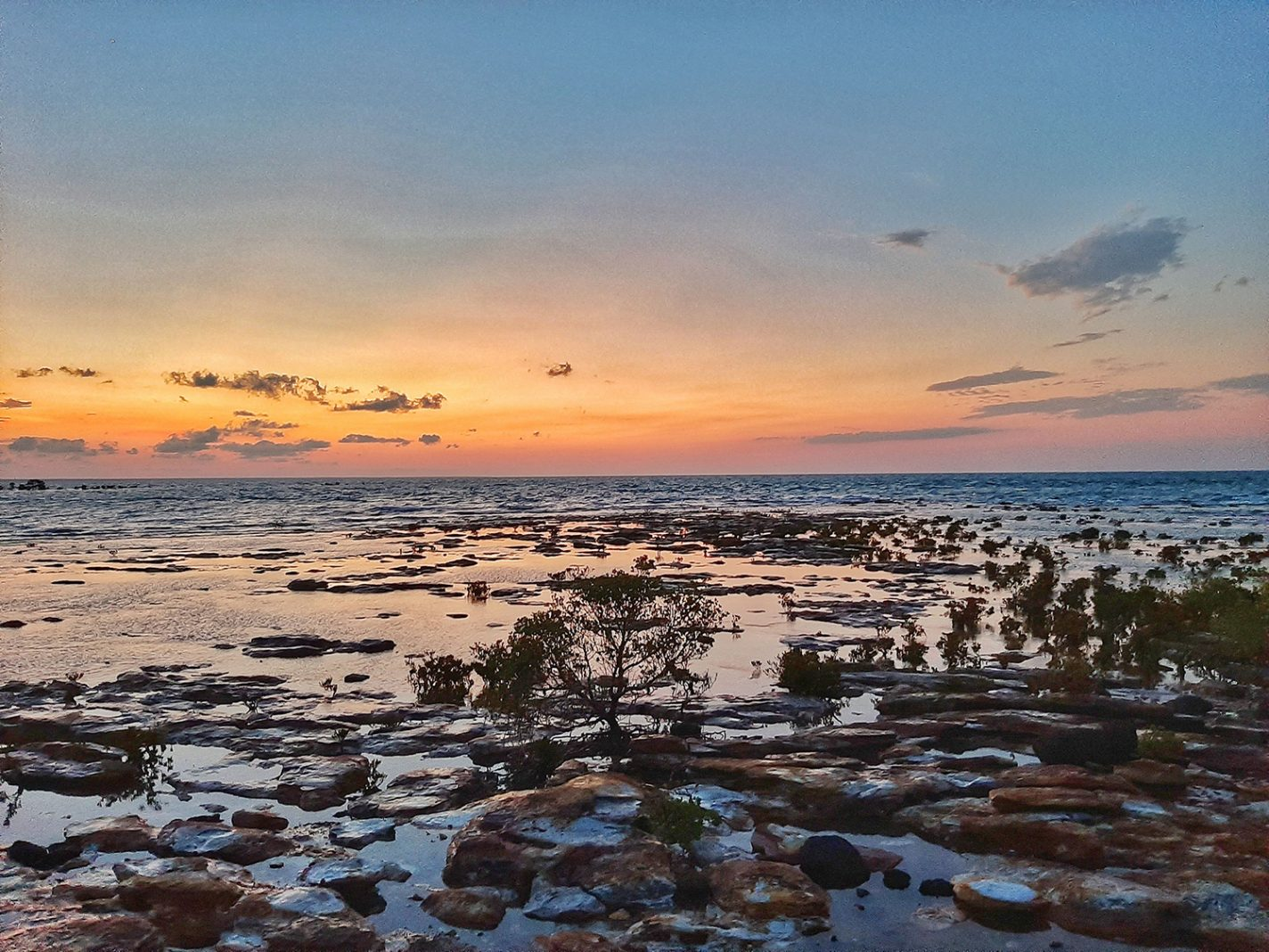 Kust bij Darwin - Leven in Australië