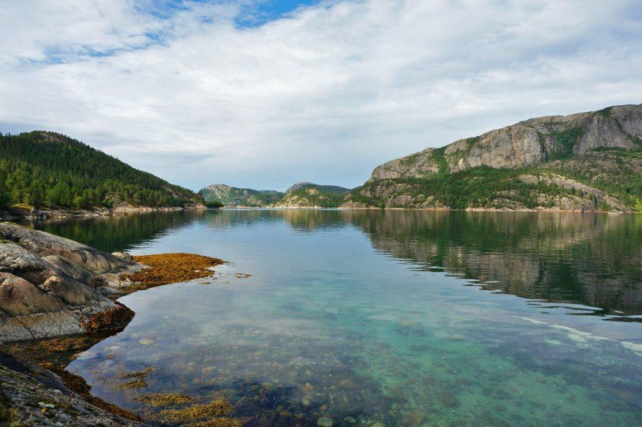 Scandinavië boven de poolcirkel