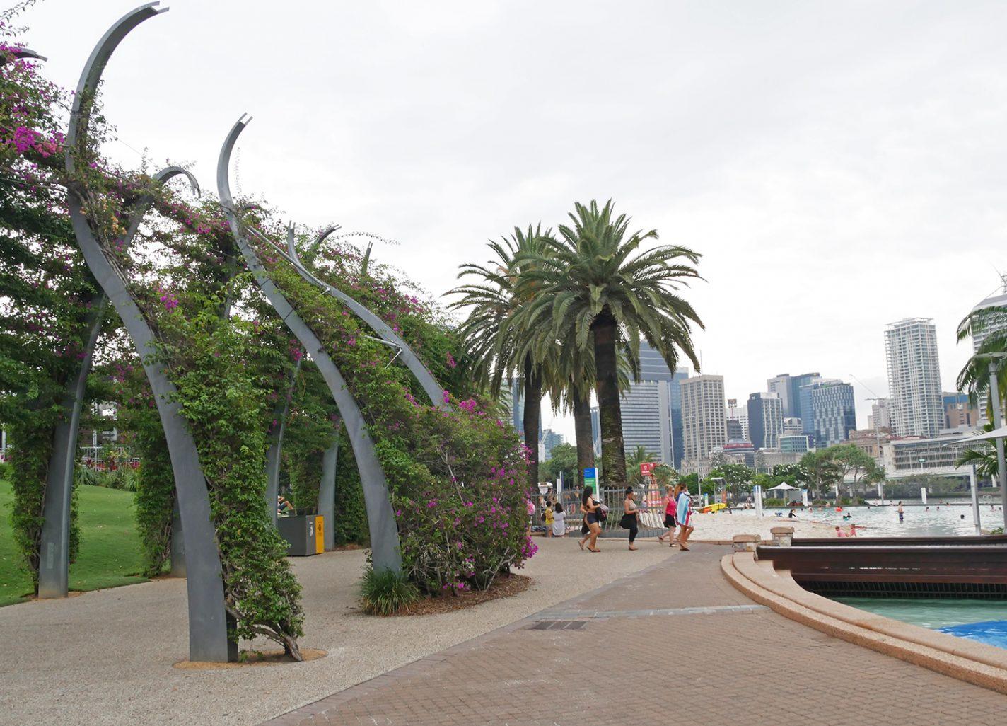 Streets Beach - 5 gratis activiteiten in Brisbane