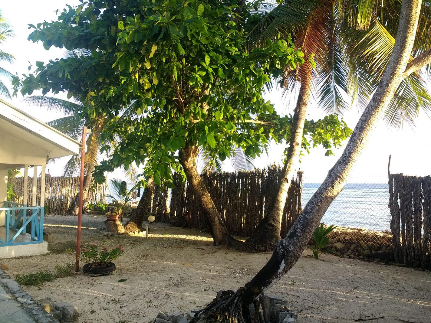 Ons uitzicht op zee - Kiribati