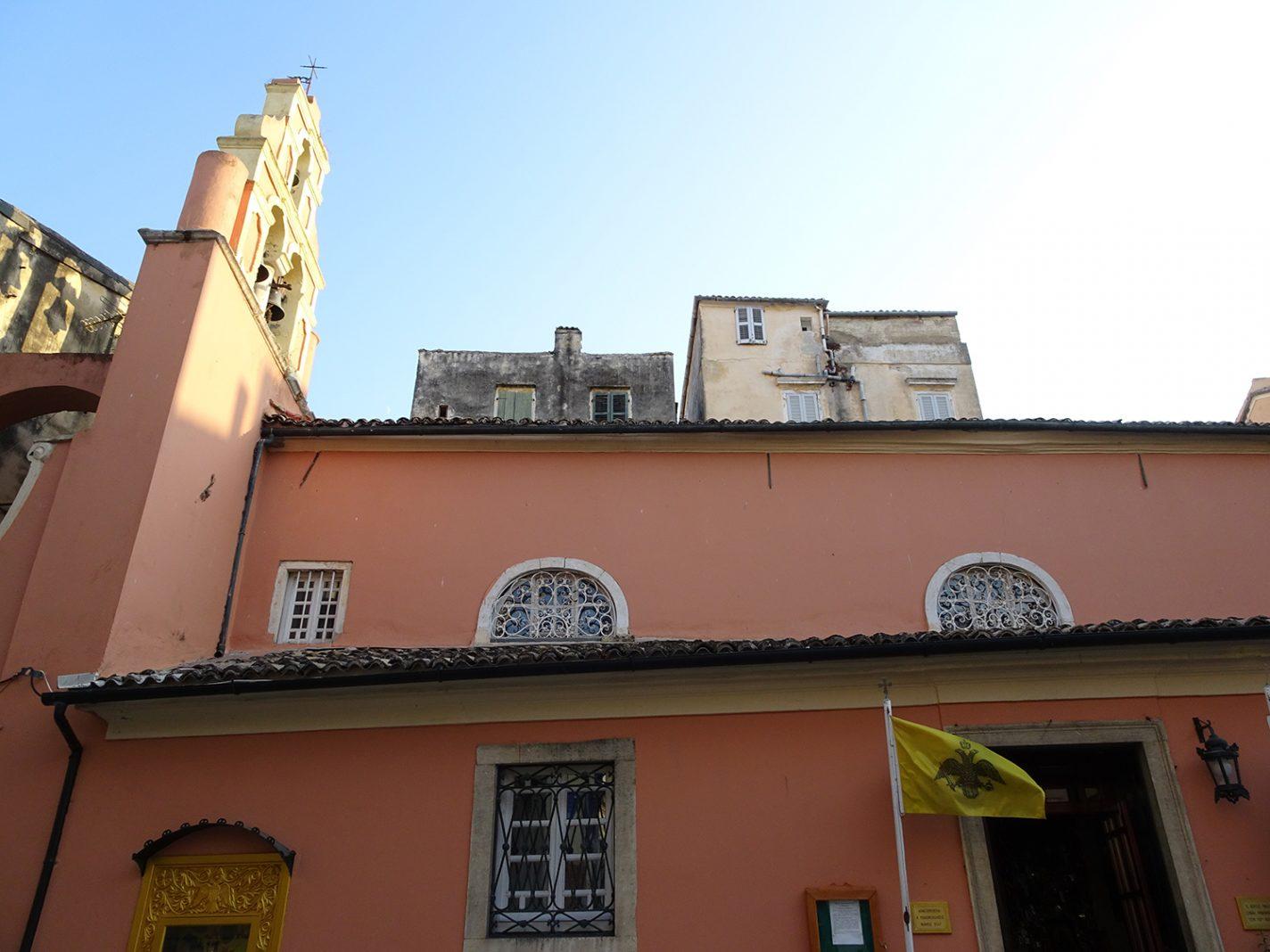 Kerkje op Corfu - mooiste plekjes Corfu