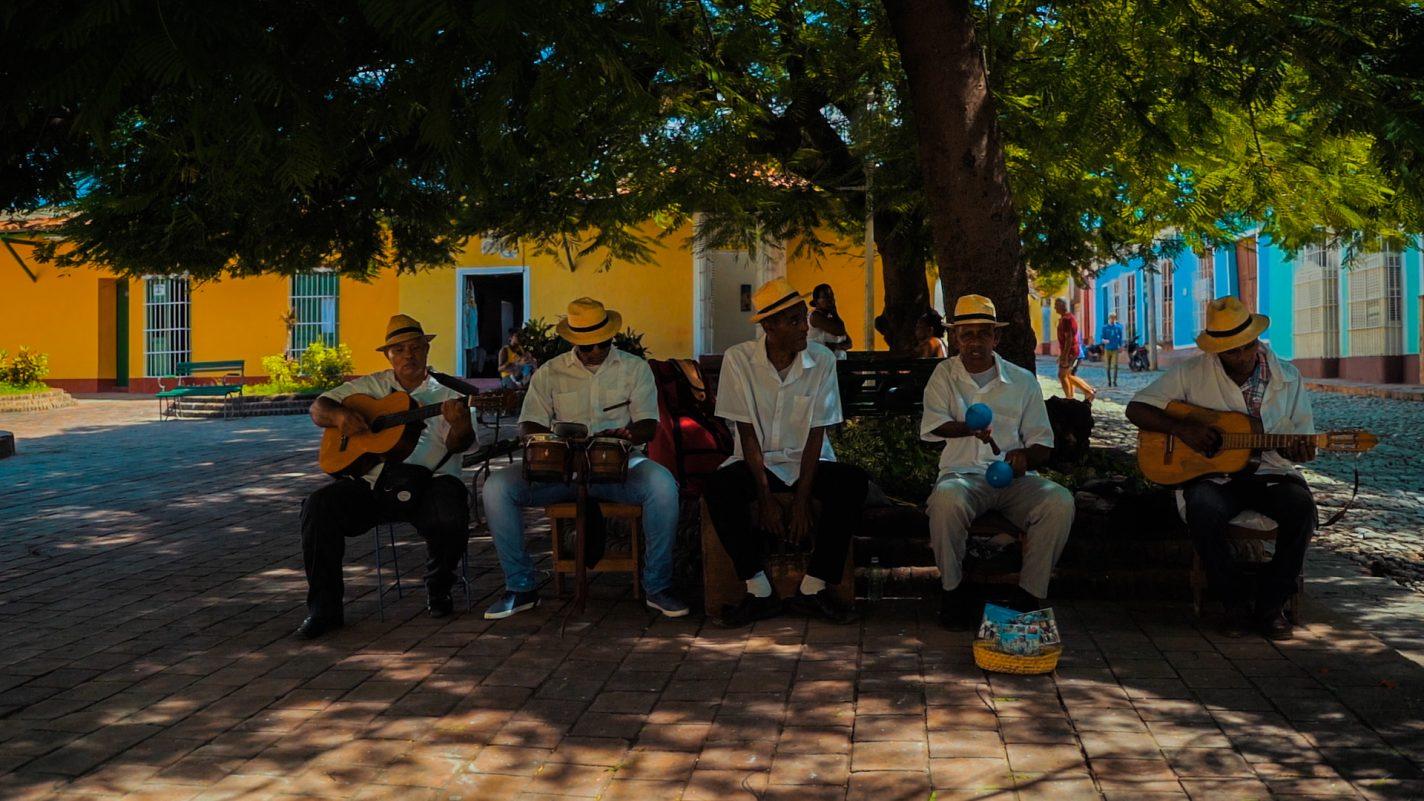 Muzikanten in Havana