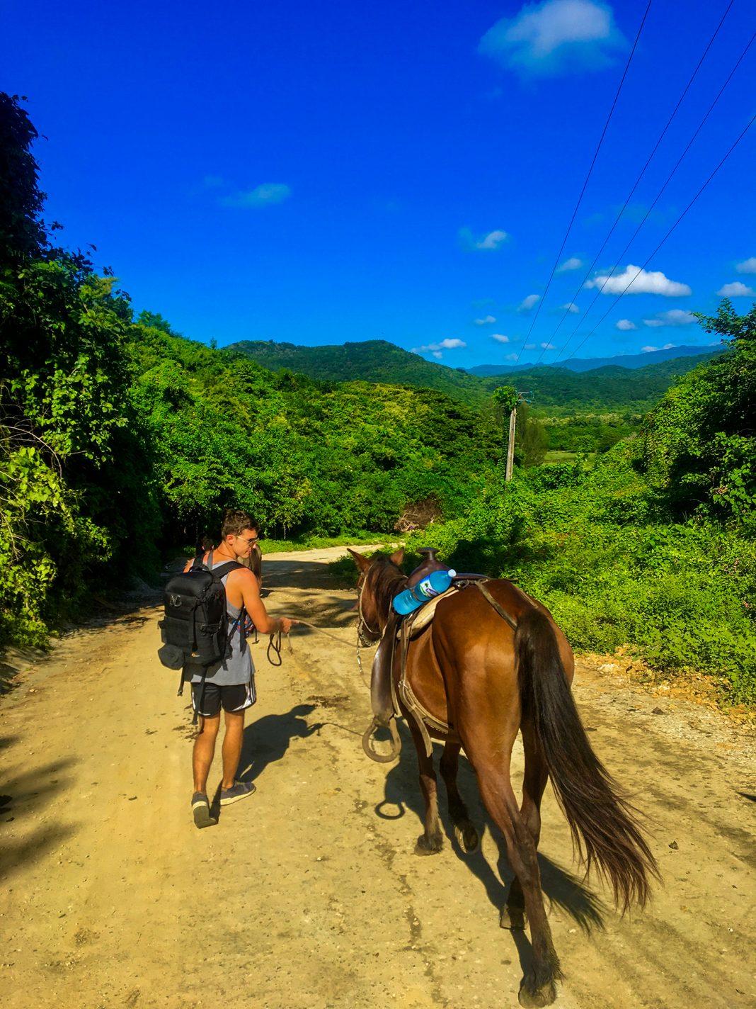 Paardrijden in Viñales