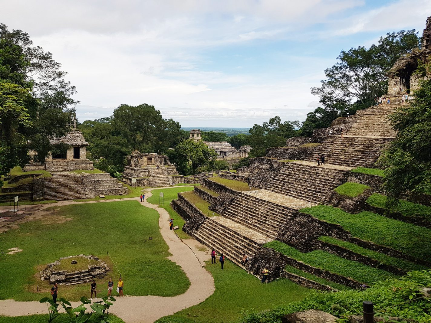 Palenque - Ruïnes - Chiapas in Zuid-Mexico