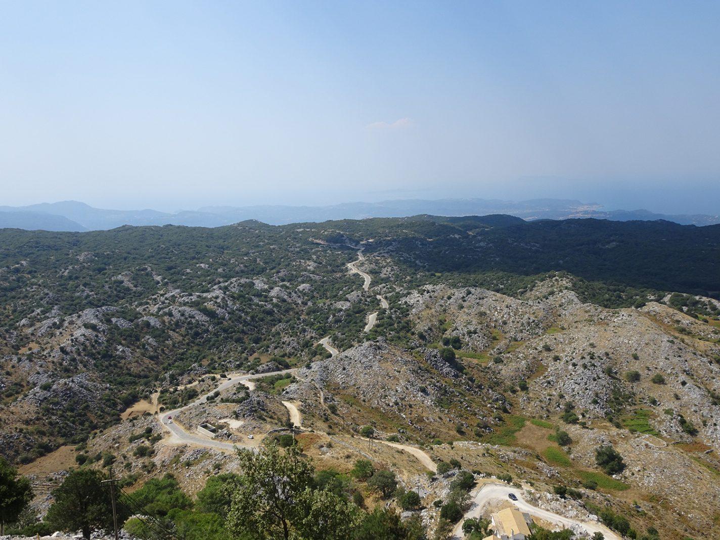 Prachtige weidse uitzichten - mooiste plekjes Corfu