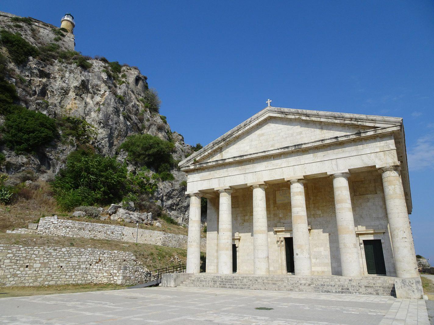 Tempelkerk in Kerkyra - De mooiste plekjes op Corfu